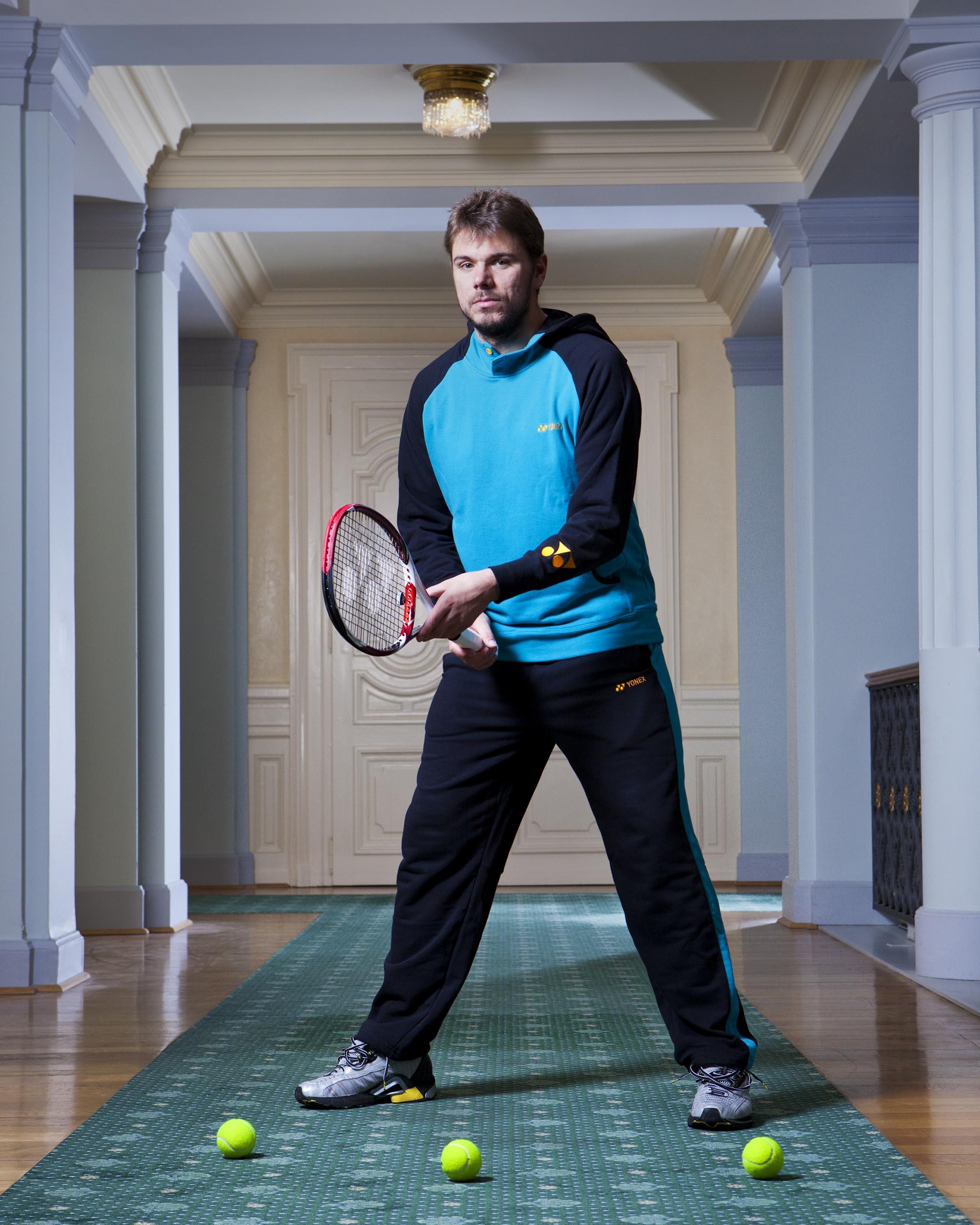Stanislas Wawrinka, joueur suisse de tennis